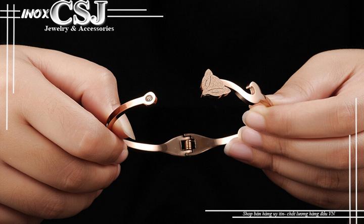 vòng tay titan nữ con cáo đẹp bán tại công sang shop