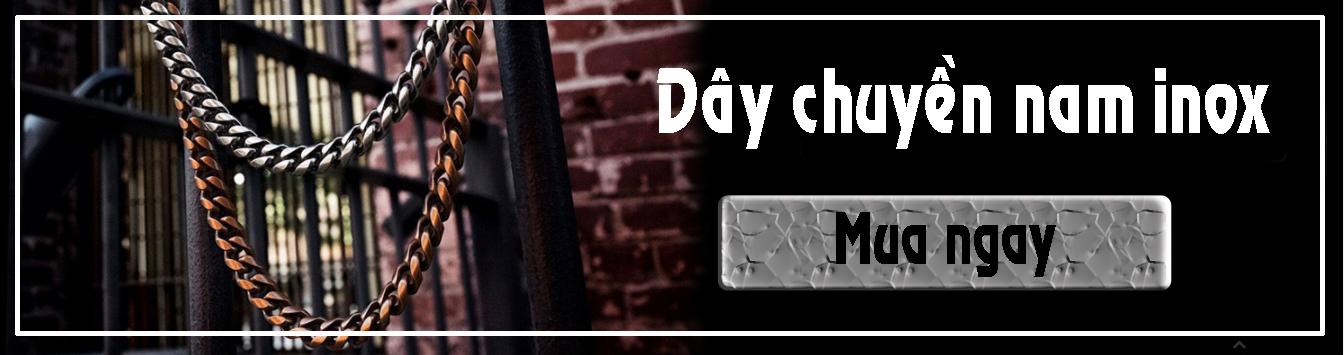 Dây chuyền nam inox - CSJ chuyên bán sỉ, bỏ sỉ dây chuyền vòng cổ nam inox cá tính đẹp giá rẻ TPHCM