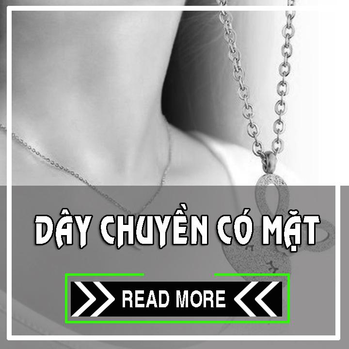 DÂY CHUYỀN INOX CÓ MẶT | đại lý bán sỉ phụ kiện trang sức nữ