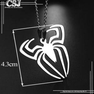 mặt dây chuyền inox con nhện cực đẹp giá rẻ HCM