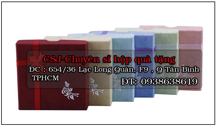 Địa chỉ bán sỉ hộp quà tặng, bỏ sỉ hộp quà đẹp giá tốt tại HCM