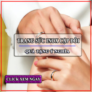 Trang sức cặp inox | cung cấp bỏ sỉ trang sức đôi inox giá sỉ rẻ