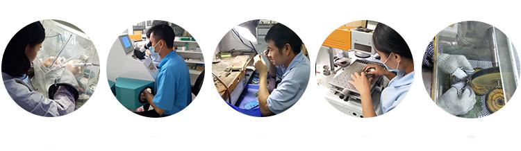 xưởng trược tiếp sản xuất gia công trang sức inox titan theo yêu cầu