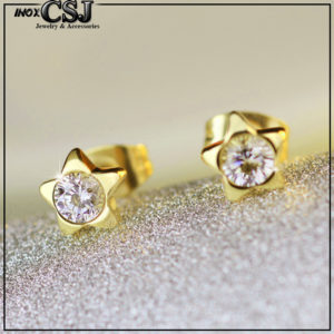 Công Sang chuyên bán sỉ bỏ sỉ Bông tai titan ngôi sao mạ vàng sang trọng xinh xắn với thời trang Hàn Quốc giá sỉ rẻ nhất thị trường HCM và hà nội