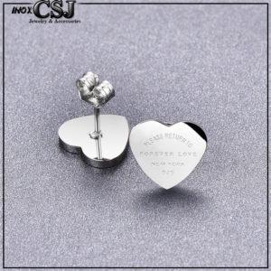 Bông tai titan trái tim thời trang hàn Quốc đẹp giá rẻ tại HCM