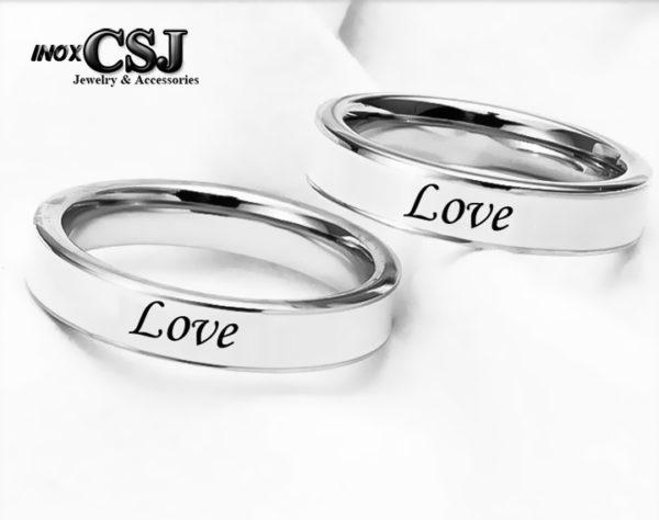 Công Sang nơi chuyên bán sỉ các mẫu nhẫn cặp đôi inox chữ love, cung cấp nhẫn cặp inox đẹp giá rẻ tại HCM hà nội