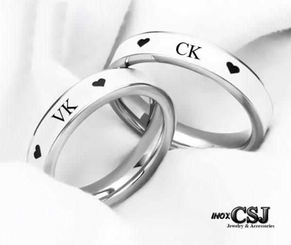 shop trang sức inox cặp đôi CSJ chuyên bán sỉ nhẫn cặp VK CK inox, nhẫn đôi inox giá rẻ