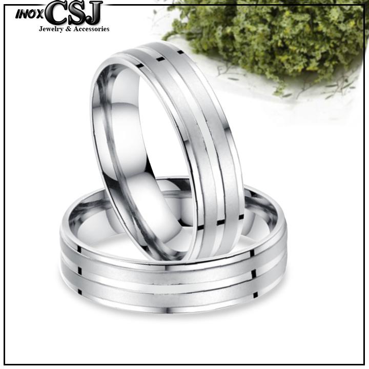 Nhẫn cặp 2 sọc inox cao cấp, trang sức inox cặp đôi đẹp giá rẻ ý nghĩa, nơi bán nhẫn đôi inox cao cấp giá rẻ uy tín HCM