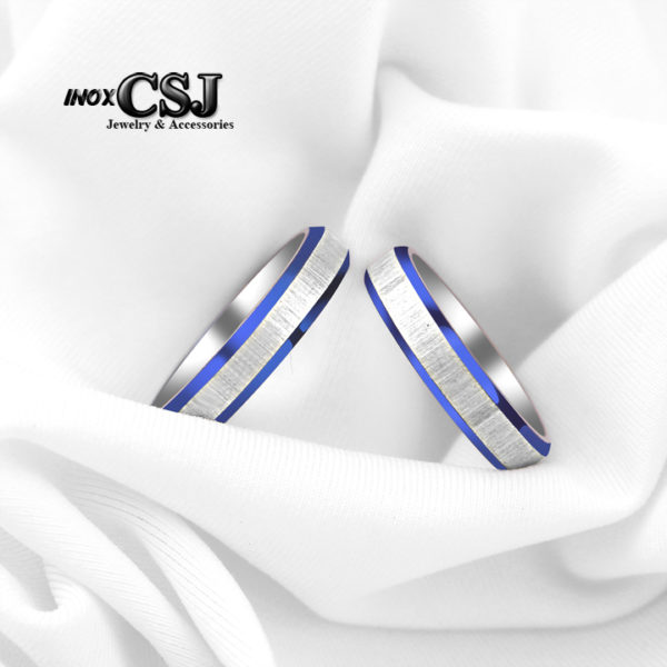 Nhẫn cặp inox , nhẫn đôi titan cao cấp thời trang, nhẫn cặp tình nhân cao cấp đẹp không đen giá rẻ CSJ