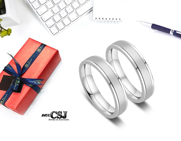 trang sức cặp đôi tình nhân inox chuyên bán sỉ bỏ sỉ nhẫn cặp sọc mờ inox cao cấp, nhẫn đôi inox đẹp giá rẻ không đen HCM