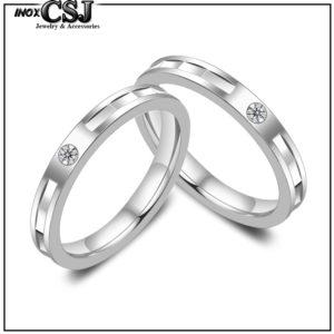 trang sức cặp đôi inox, nhẫn cặp inox,nhẫn đôi inoxm nhẫn tình nhân inox cao cấp đính đá kim cương cao cấp giá rẻ không đen tại HCM
