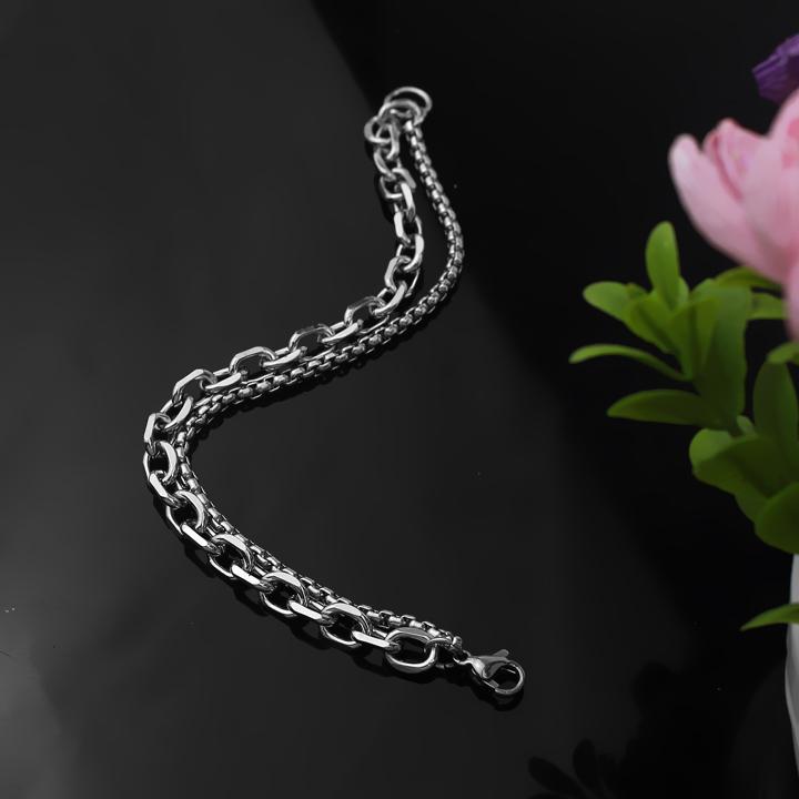 Công Sang chuyên bán lắc tay nam inox thời trang Hàn Quốc, vòng tay inox nam phong cách thời trang HQ đẹp cá tính độc đáo giá rẻ HCM