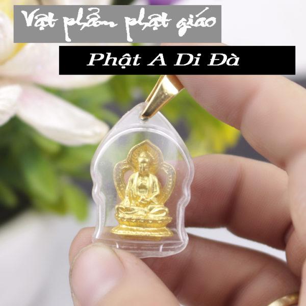 Mặt dây chuyền phật A Di Đà - Thái Lan