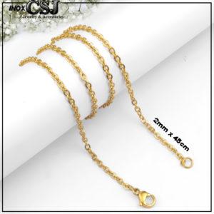 CSJ chuyên bán dây chuyền nữ inox mắc xích xi mạ màu vàng, vòng cổ nữ đẹp giá rẻ không đen