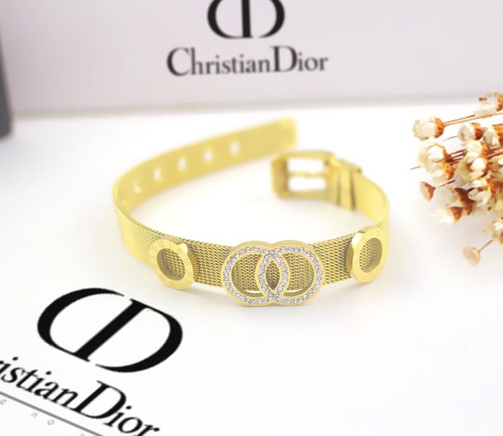 TV118b-Vòng tay titan thời trang Dior