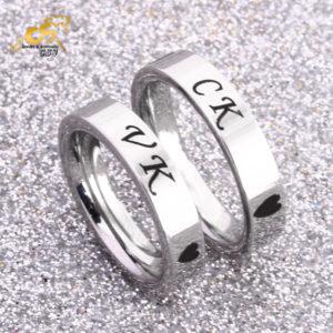Nhẫn inox cặp đôi vợ chông VK CK