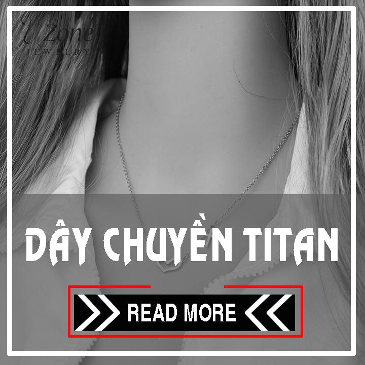 Dây chuyền titan nữ - bán bỏ sỉ trang sức titan giá rẻ hàng đầu