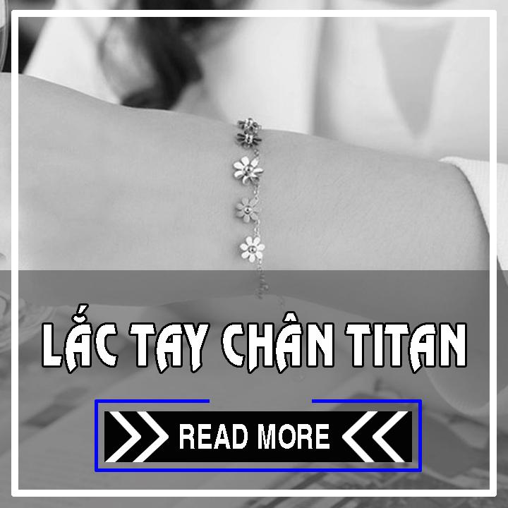 Lắc tay titan, lắc chân titan - bỏ bán sỉ trang sức titan giá sỉ rẻ nhất