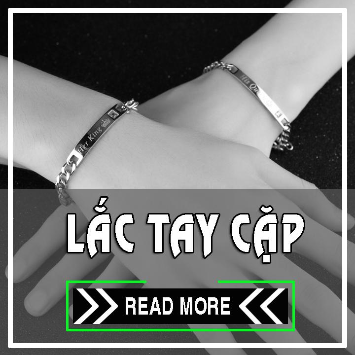Lắc tay cặp inox | chuyên cung cấp bán sỉ vòng tay đôi inox giá rẻ