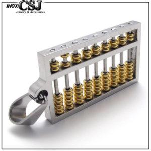 CSJ bán mặt dây chuyền inox bàng máy tính cổ đẹp giá rẻ, vòng cổ inox bang máy tính cao cấp không đen,