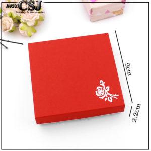 CSJ chuyên bán sỉ hộp vòng tay, bỏ sỉ hộp quà đựng vòng tay màu đỏ cực đẹp,