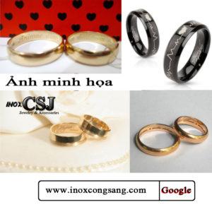 công sang shop chuyên nhận khắc lazer lên nhẫn đẹp sắc xảo giá rẻ