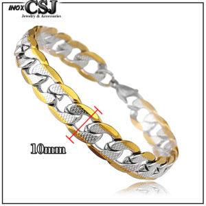 vòng tay nam inox ,Lắc tay nam inox kiểu lặc mạ vàng cách điệu thời trang Hàn Quốc giá rẻ tại HCM