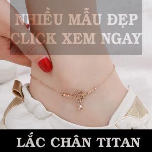 Lắc chân titan, bán bỏ sỉ lắc chân titan đẹp giá sỉ rẻ HCM