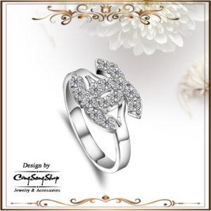nhẫn nữ inox chanel