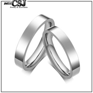 trang sức cặp đôi CSJ chuyên bán nhẫn cặp inox trơn, nhẫn đôi inox trơn, nhẫn cặp tình nhân inox
